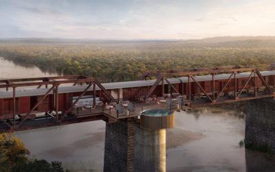 New Hotel for Kruger National Park… Train… On A Bridge!