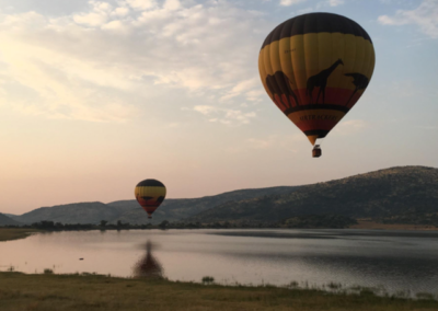 Incentive for a multi national – Cape Town and Safari Hot Air Ballooning