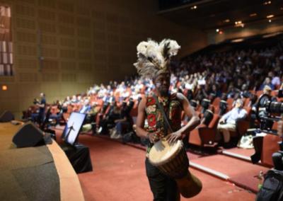 drummer entertainer at conference